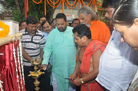Inauguration of OPOLFED CHICKEN FRESH outlet in the premises of sahidnagar veterinary hospital in Bhubanesware